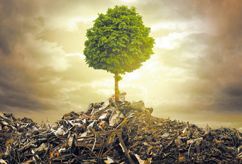 废品回收是一个国家资源可持续发展的前提