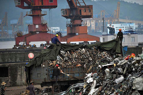 """我国将禁止进口以下""""洋垃圾"""""""